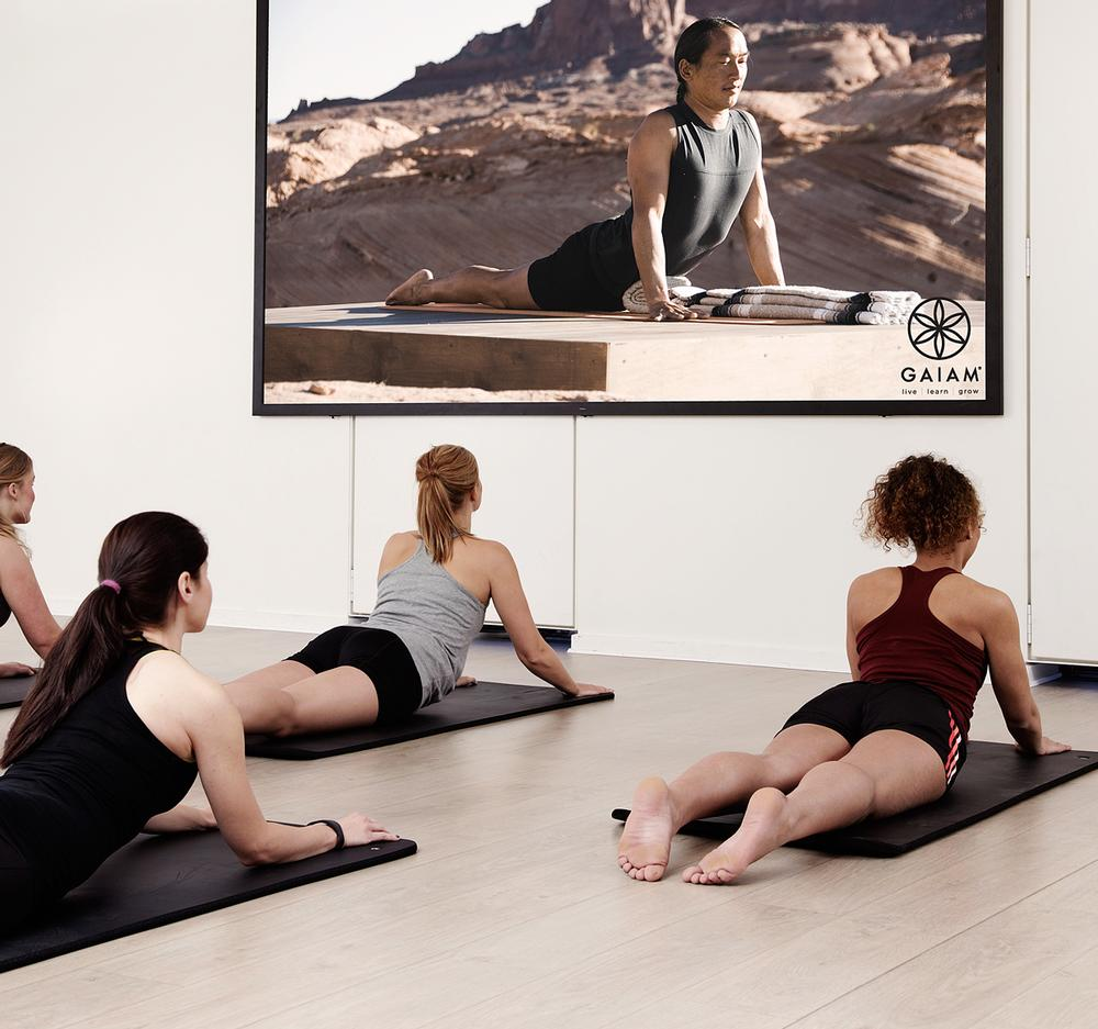 Gaiam's virtual class gives access to world class instruction by Rodney Yee