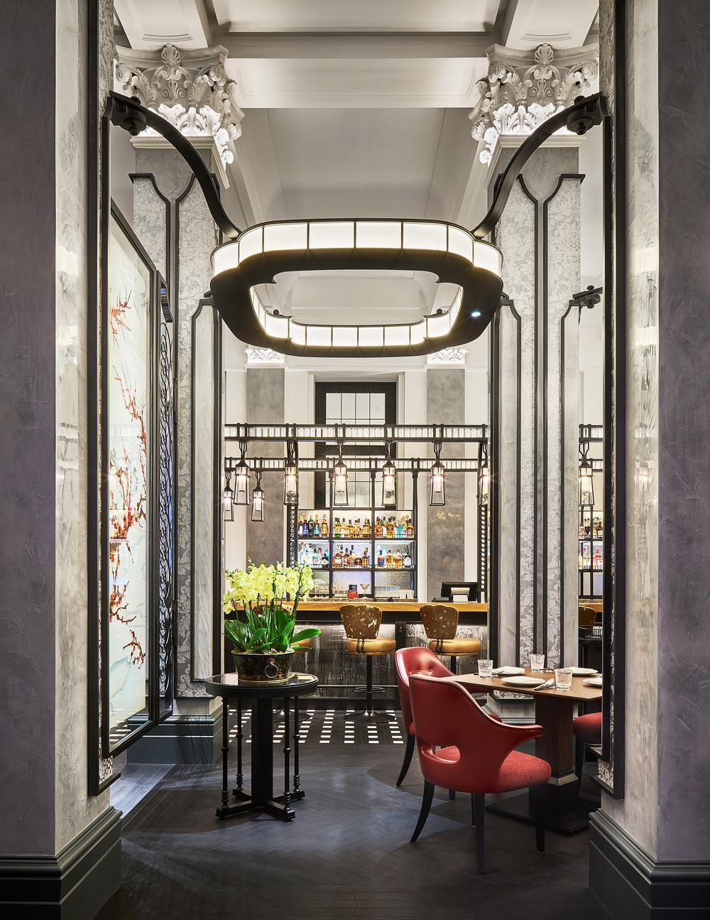 Mei Ume is one of two restaurants at the Four Seasons Hotel London. It opened last summer