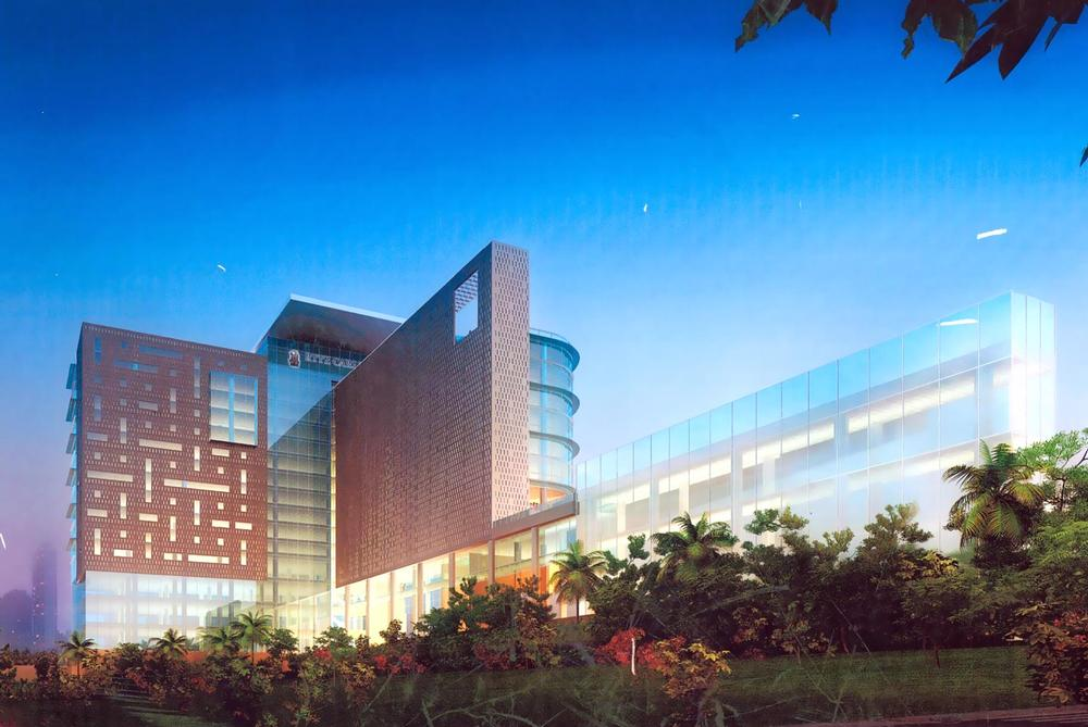 Ritz carlton has opened it first hotel in bangalore india for Multinational architectural firms in bangalore