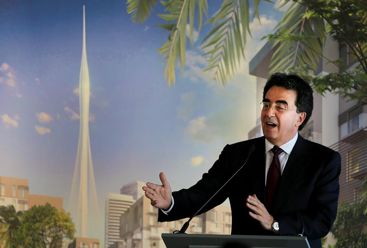 Santiago Calatrava has said The Tower will be 'a combination of geometry, mathematics and a deep sense of understanding of architecture in a most classical way' / AP Photo/Kamran Jebreili