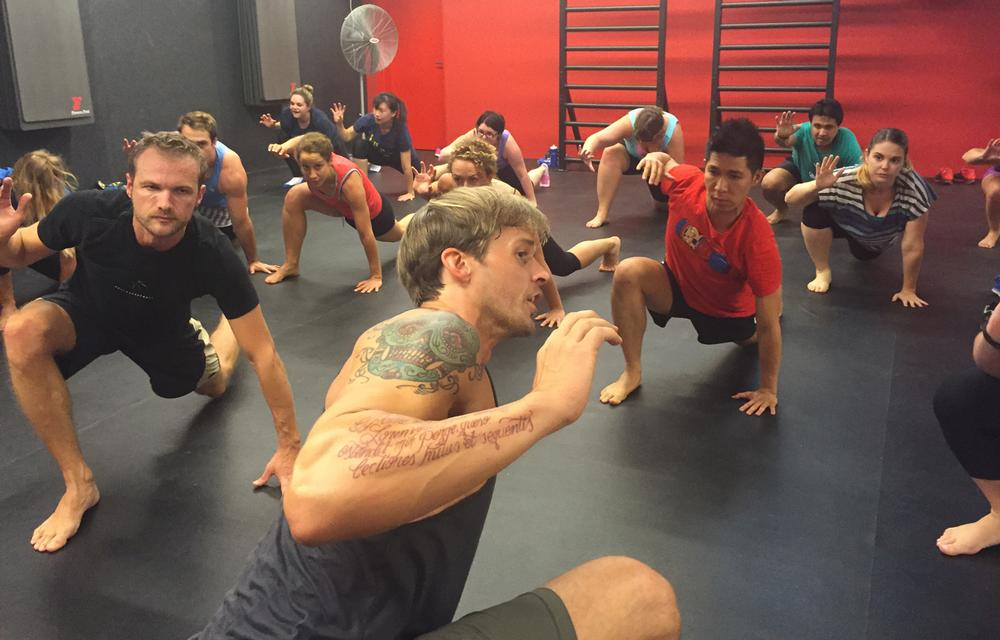 Animal Flow founder Mick Fitch teaches varied movements