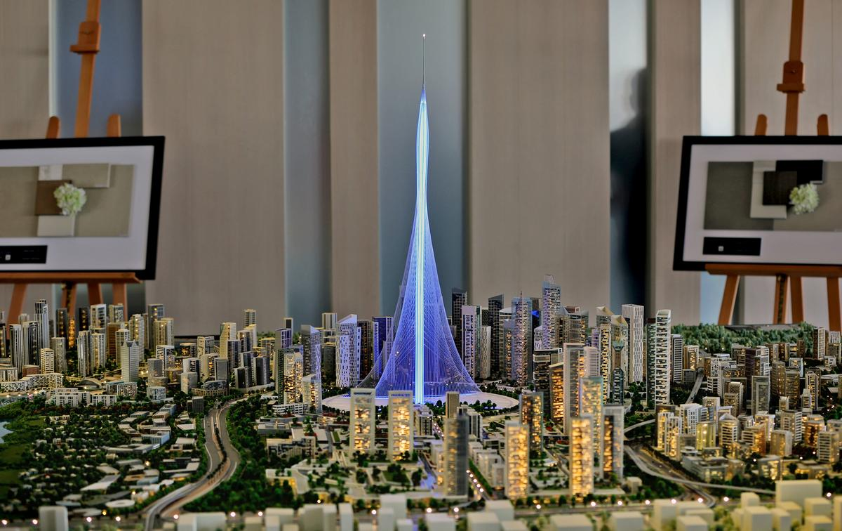 The Tower will be 'a notch' taller than the world's highest building, the Burj Khalifa / AP Photo/Kamran Jebreili