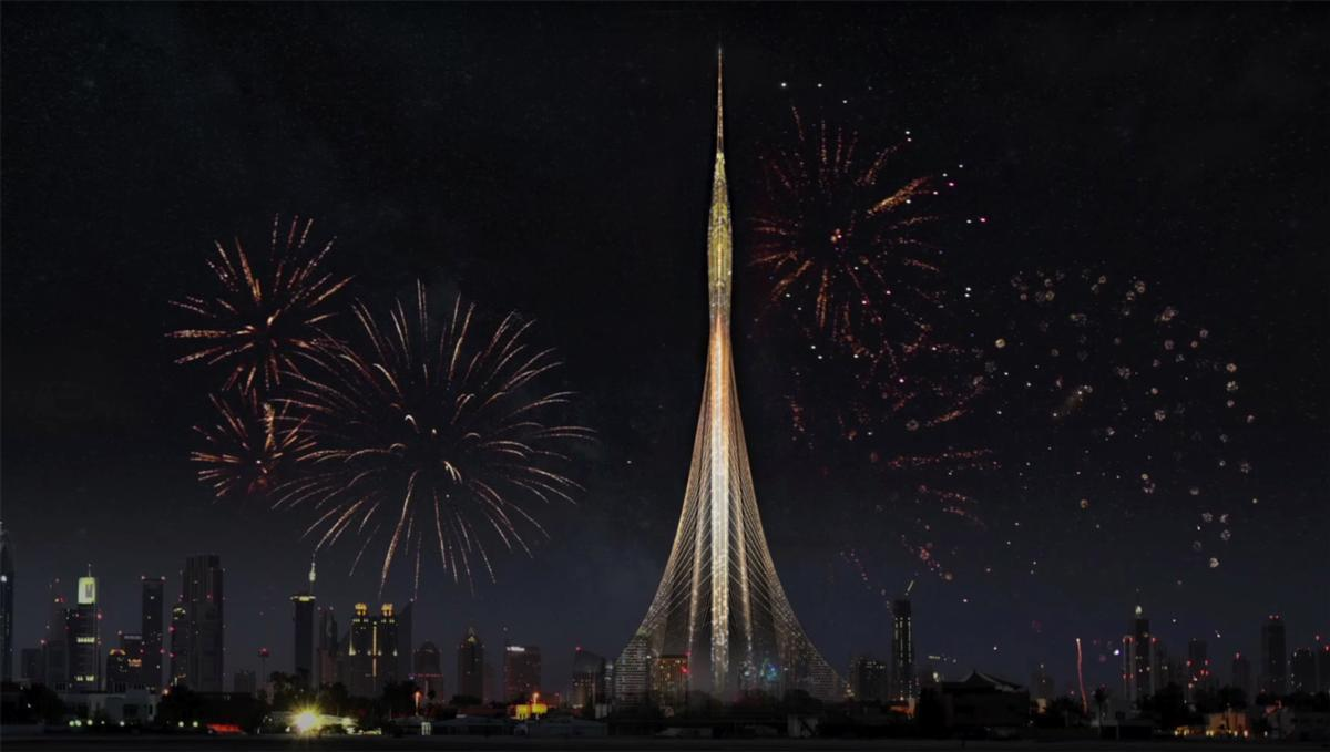 The project has been described as a monument for Dubai and 'a signal to the world' / Emaar Properties