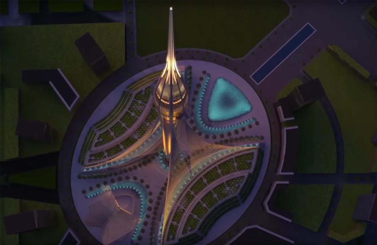 The building is expected to open in 2020 to coincide with Dubai's hosting of the World Expo / Emaar Properties