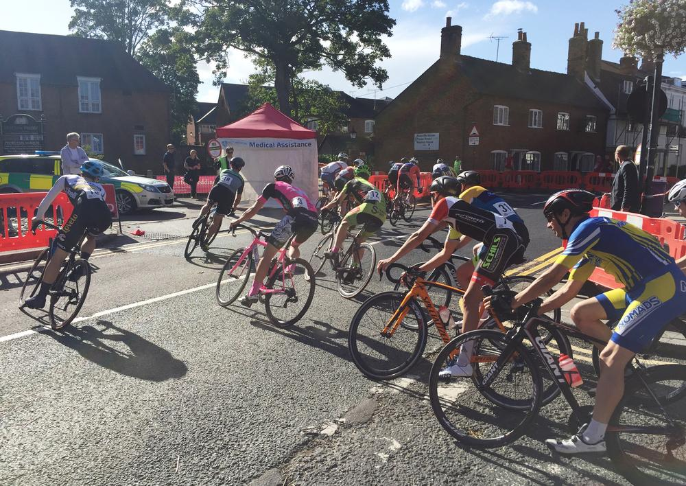 The shorter distance events helped to create an exciting festival atmosphere