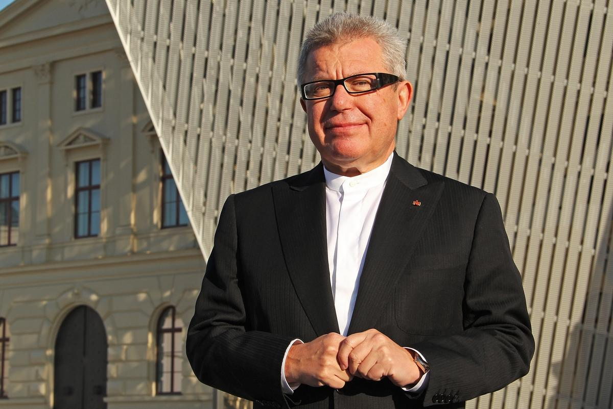 Daniel Libeskind said 'the power of architecture is the power to do something good' / Dienen Deutschland