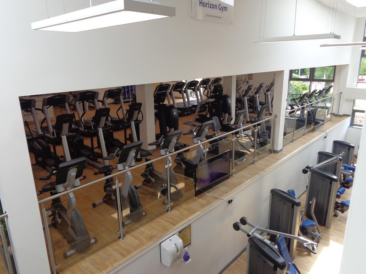 The revamped gym contains more than 150 stations – with equipment supplied by Life Fitness