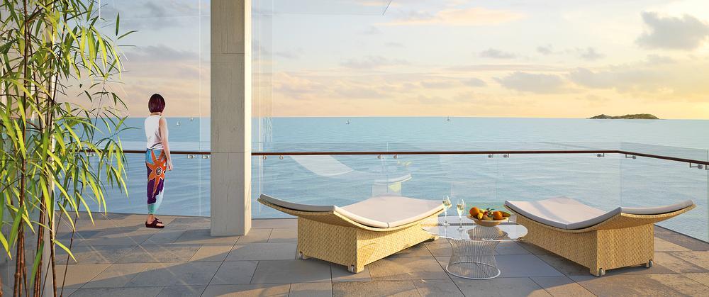 The luxury Sanya Bay Haitang Resort in China