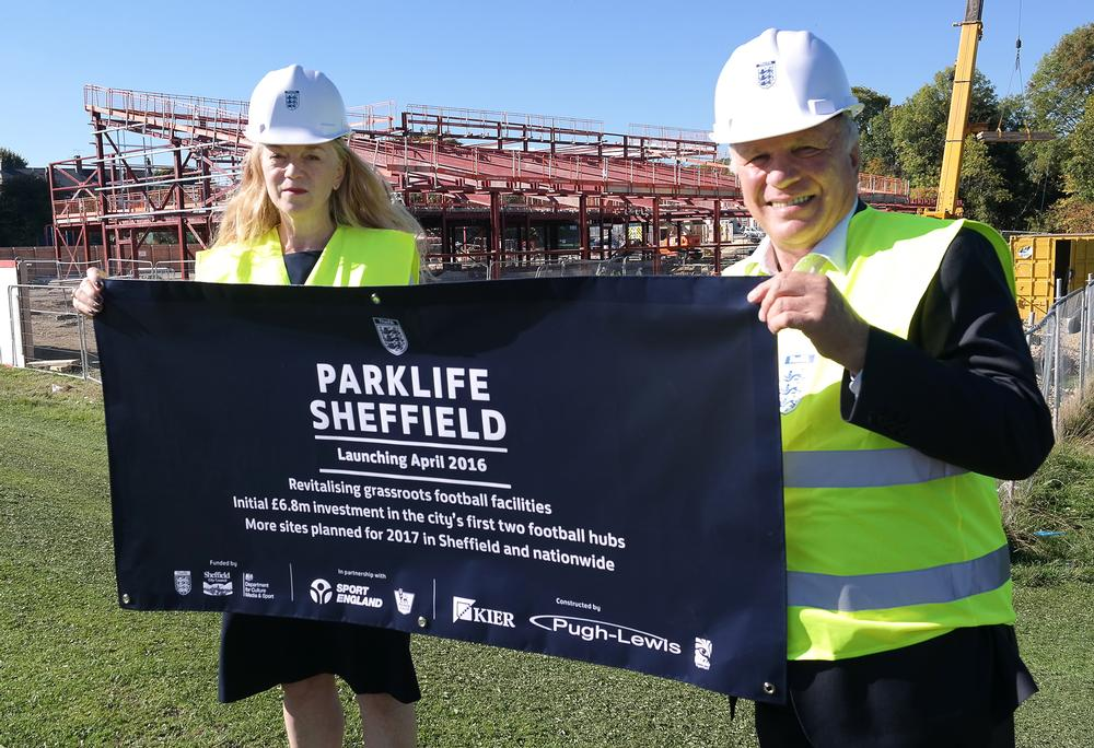 The FA's Parklife Project was endorsed by its former chair Greg Dyke