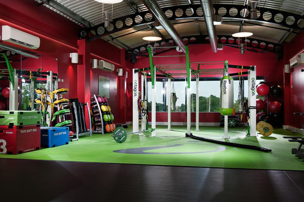 The Escape Octagon is the centrepiece of the new functional training space