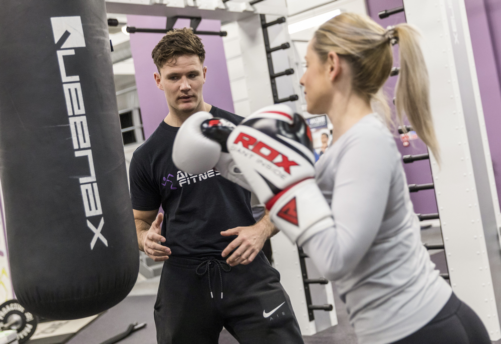 The Queenax™ unit offers a wide range of exercise options at Anytime Sheffield