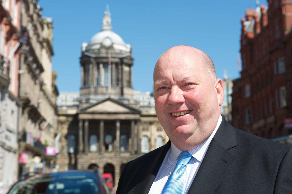 Joe Anderson became Liverpool's first elected mayor in 2012
