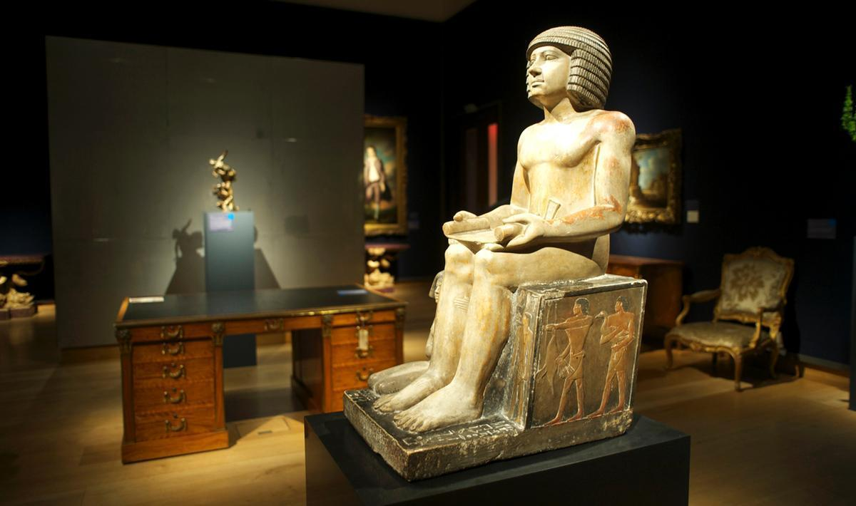 The 4,500-year-old statue cannot now leave the country
