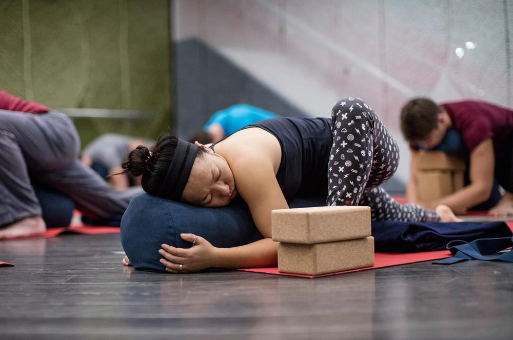 Virgin Active's Calm by Candlelight class uses deep stretching to calm and de-stress