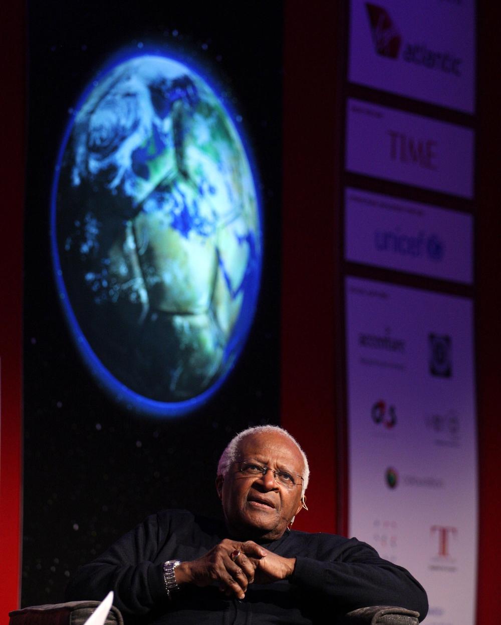 Beyond Sport ambassador Desmond Tutu