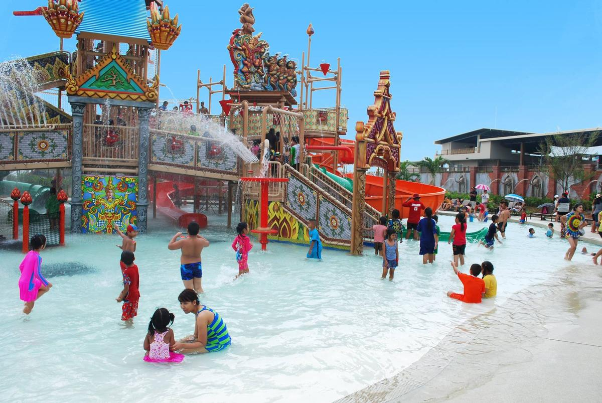 A raft of of features includes a dedicated kids zone
