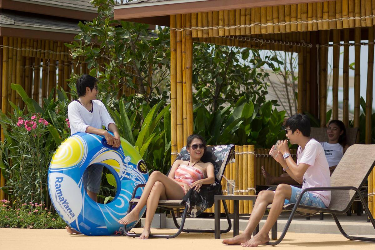 The waterpark is considered a major attraction for Thailand, with predicted numbers of 2 million a year by 2020
