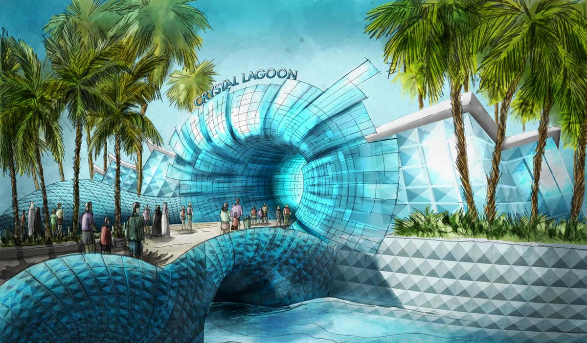 Due to favourable conditions in the UAE, the attraction will operate year-round / Jack Rouse Associates