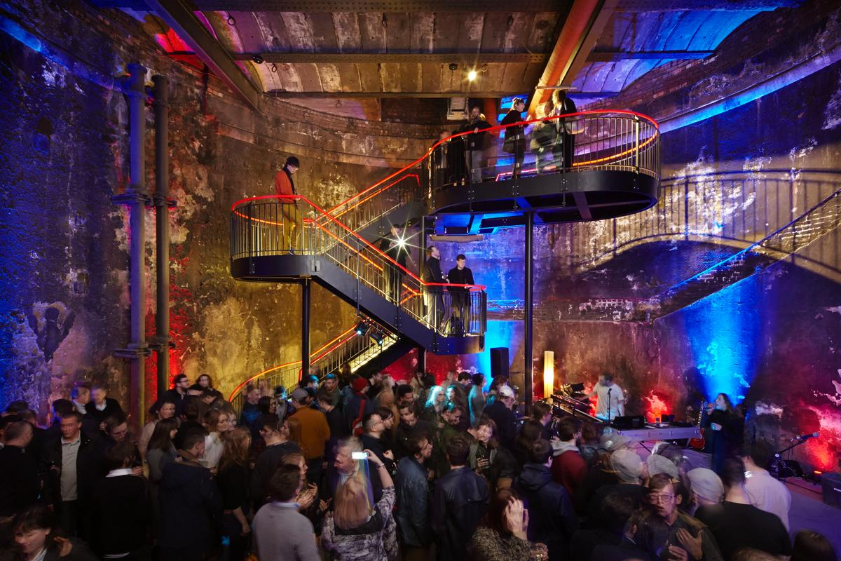 The underwater shaft, which once hosted banquets and fairs organised by Brunel, will now be used for concerts, performances and exhibitions for London's Brunel Museum / Jack Hobhouse