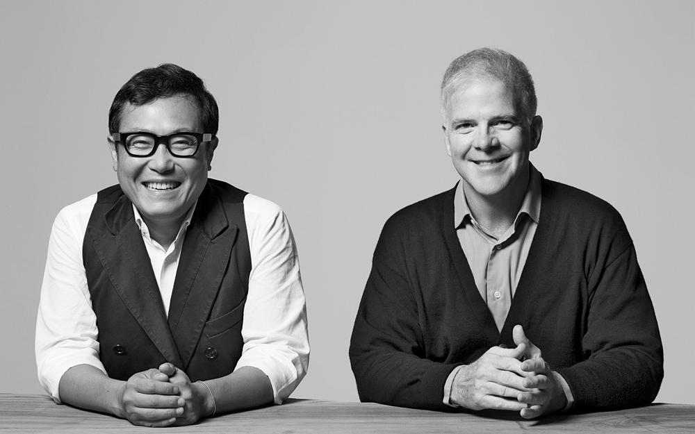 Calvin Tsao (left) and Zack McKown launched Tsao & McKown in 1985