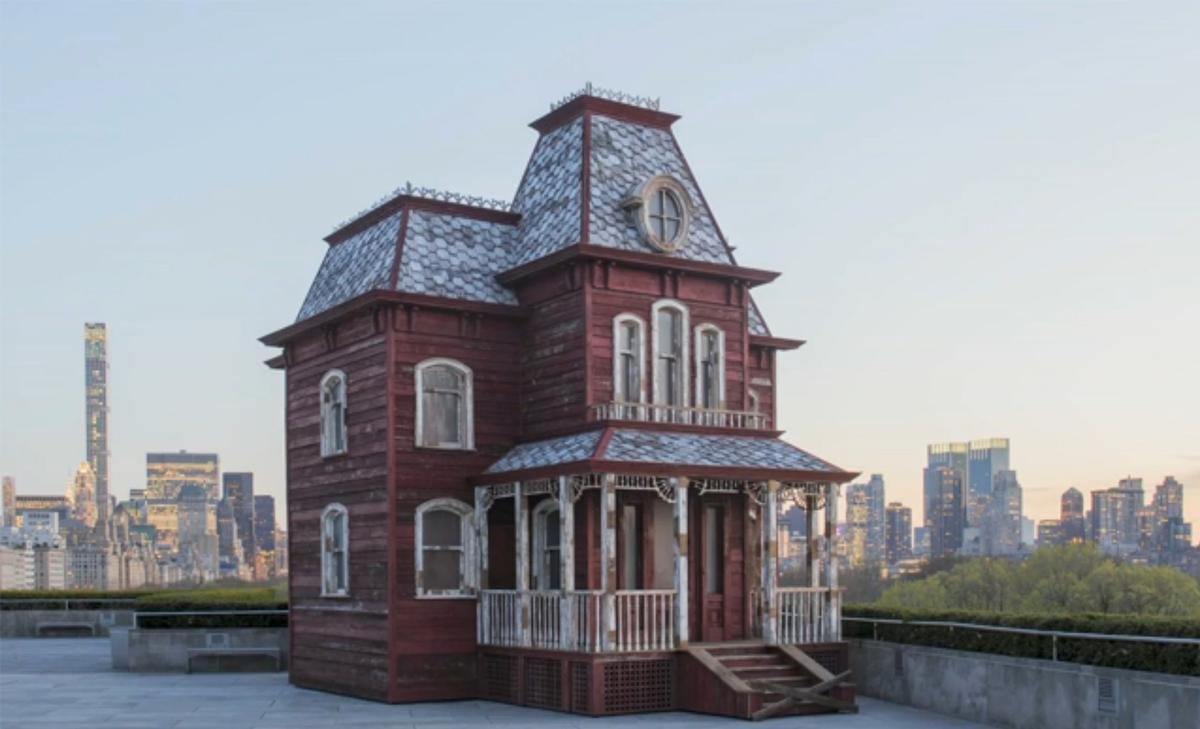 The installation, called Cornelia Parker, Transitional Object (PsychoBarn), will be displayed on the Met Museum's rooftop between 19 April-31 October 2016 / The Metropolitan Museum of Art