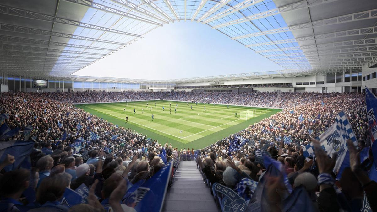The club will find out in March if its appeal to build the UWE Stadium has been successful / Bristol Rovers