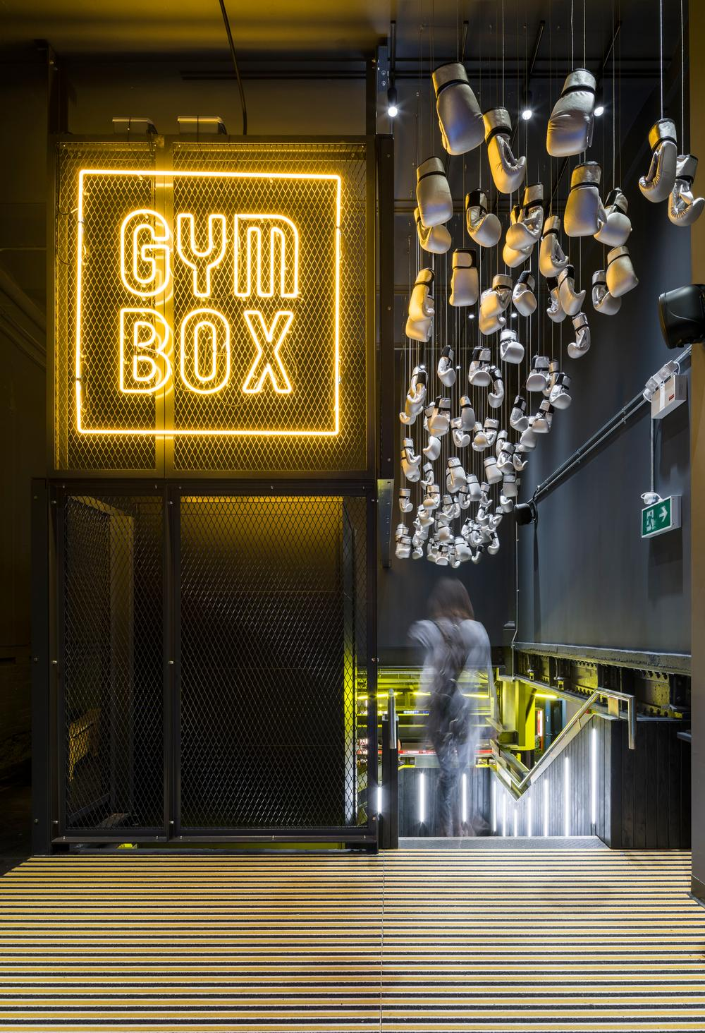 Gymbox clubs are designed by architects with a retail and nightclub design background