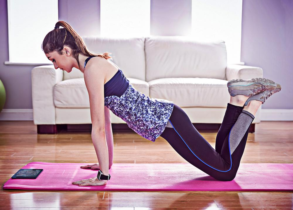 Gyms must compete with the convenience of virtual at-home fitness / Photo: shutterstock.com