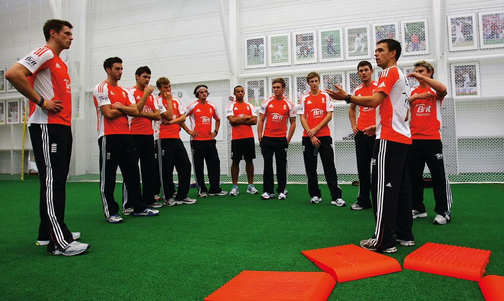 England players during a performance training session at Loughborough / PIC: © www.gettyimages.co.uk