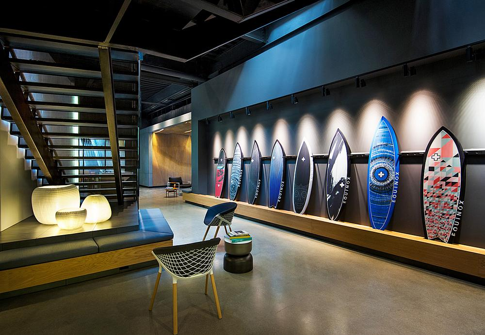The Huntington Beach club is inspired by the local surf culture