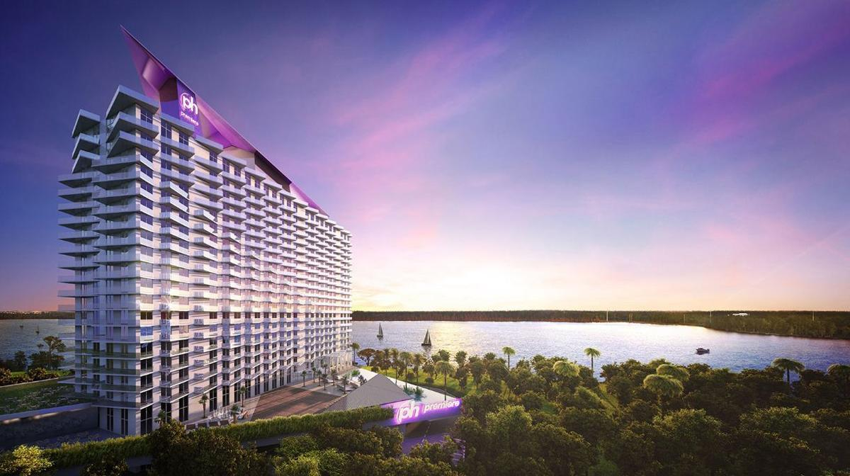 Architecture and design news from clad azzurra wyndham for Design hotel hollywood florida
