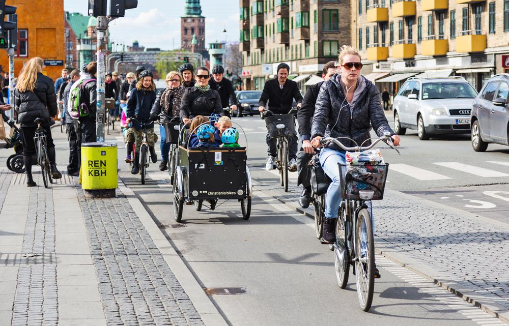 Cavill: Town planners must create more opportunities for active travel / PHOTO: SHUTTERSTOCK.COM