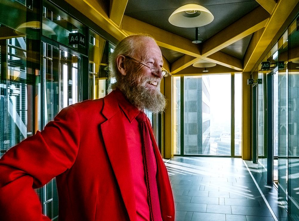 Davies in the RSHP-designed Leadenhall Building, where the practice is now based / Photo: Paul McLaughlin