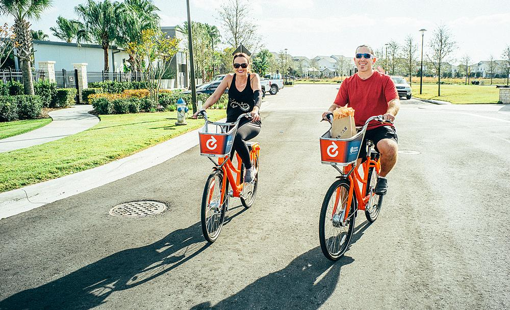 Wellness communities are designed to encourage physical activity