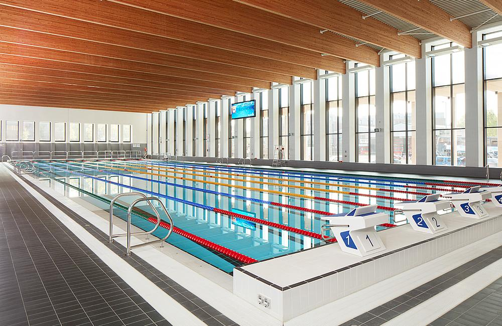 Birmingham's only 50m swimming pool was built by the city's university