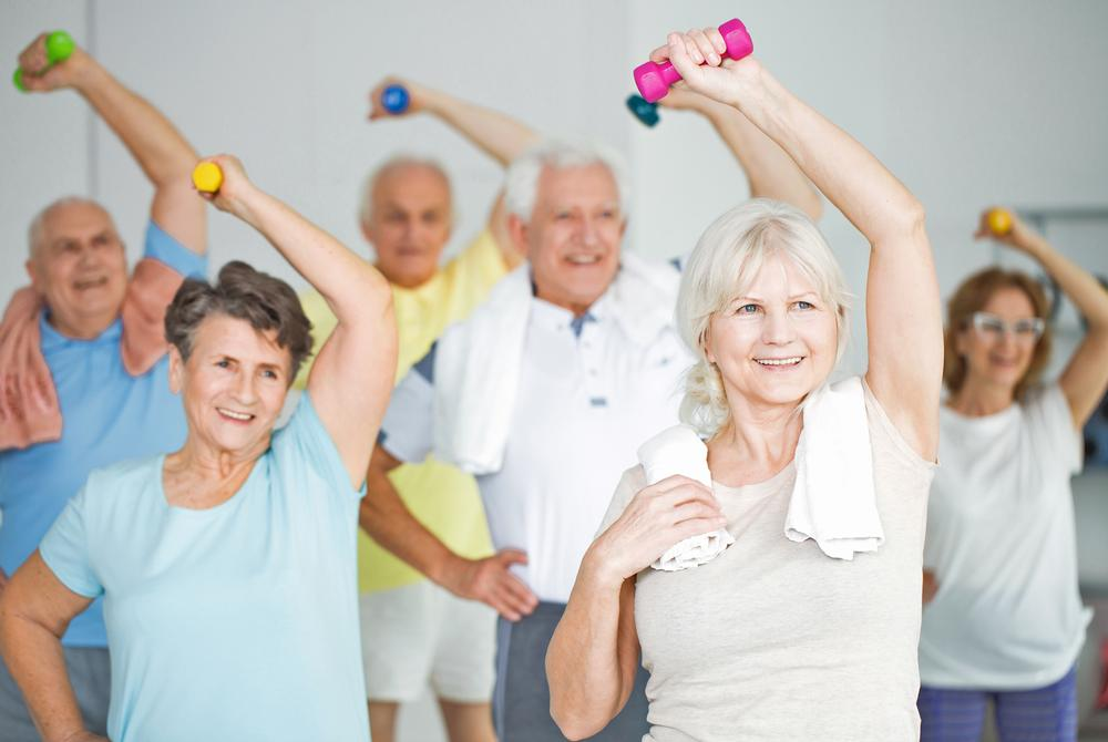 Group exercise for older audiences can be a good revenue stream for operators / © shutterstock/Photographee.eu