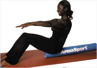 On a roller with Armasport