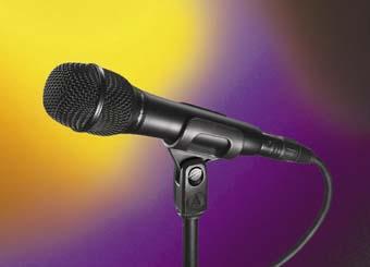 New mics from Audio-Technica