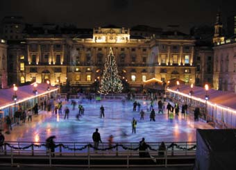 Calor lighting the way at London ice rink