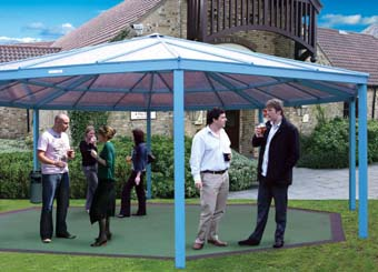 New canopy from Cambridge Glasshouse