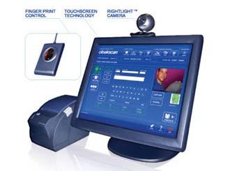 IDscan's biometric cloakroom management