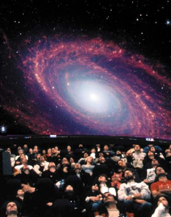 Digistar visible at new planetarium