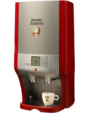 Nieuw Spa Business - Douwe Egberts Coffee Systems: Cafitesse 60 new from YN-81