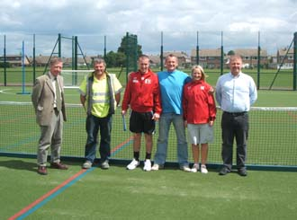 New pitch for Doncaster school