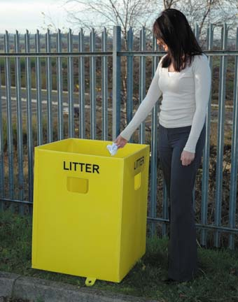 Litter collection goes flat out