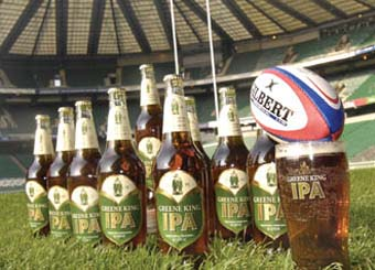 Greene King to sponsor RFU