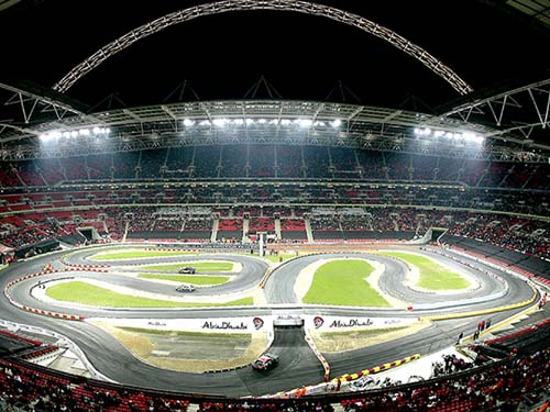 ISC secure crowds and drivers at 'Race of Champions'