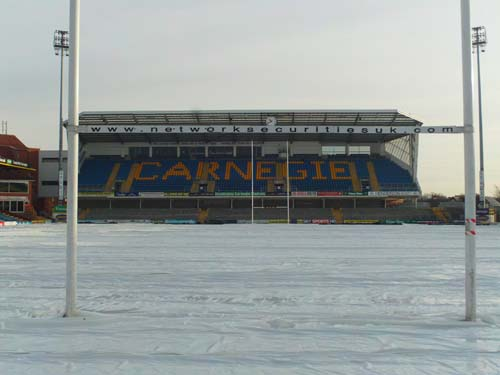 Protecting pitches from the elements