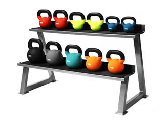 Kettlebells in colours