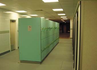 Locker room innovation at Hackney leisure centre